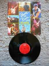 "Bruce Springsteen Born To Run Live 12"" Vinyl 1987 UK CBS 1st Press A1/B1 Single"