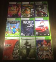 Microsoft Xbox 360 You Pick & Choose Video Game Lot-TESTED Buy 3 Get 1 FREE!