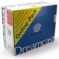 Dreamcast - Konsole #Online Pack + Spiel + Original Controller + Zub. mit OVP