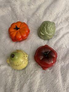 Le Creuset Mini Cocotte Casserole - Avocado, Pumpkin, Pear, Tomato