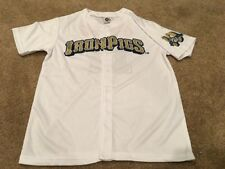 LEHIGH VALLEY IRONPIGS PHILLIES SGA WHITE #17 JERSEY, SIZE YOUTH LARGE, NIB