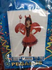 Vestito Costume Diavoletta 5/6 anni Carnevale Pegasus Party Diavolo