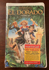 The Road to El Dorado (VHS, 2000, Clam Shell)