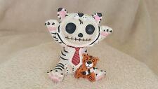 Furrybones White Tigrrr the Tiger Figurine Skull in Costume New Free Shipping