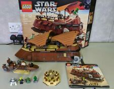 Rare lego Star Wars Set No 6210 Boxed 9/10 Jabba's Sail Barge 100% Complete