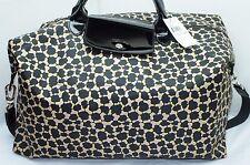 New Longchamp Le Pliage Neo Fnt Travel Bag Shoulder Black Handbag Nylon Hobo