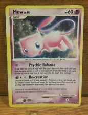 Pokémon Card - Mew Holo 15/132 Diamond & Pearl: Secret Wonders