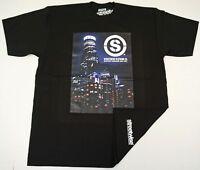 STREETWISE SKYLINE T-shirt LA Cali Urban Streetwear Tee Adult L-4XL Black NWT