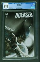 DCeased #2 CGC 9.8 Bulletproof Comics Edition A Gabriele Dell'Otto Cover Variant