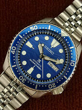 LOVELY SAVE THE OCEAN MOD SEIKO 7S26-0020 SKX007 AUTOMATIC MENS WATCH 764611
