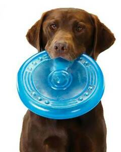 """ORKA Soft Flyer - Tough Dog Frisbee - Made for Chewers Yet Safe on Teeth 8.5"""""""