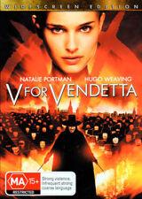 V For Vendetta - Hugo Weaving, Natalie Portman - DVD