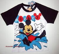 BNWT Disney Mickey Mouse T-Shirt Top boys Tshirt cotton new release