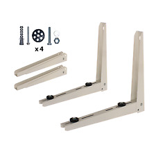 Condensing Unit Wall Mounting Bracket Set for Mini Split System Air Conditioners