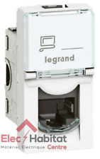 Prise RJ45 STP 1 module catégorie 6 Mosaic Legrand 76573