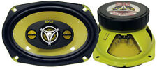 Pair Pyle PLG69.4 6'' x 9'' 400 Watt Four-Way Speakers Car Audio