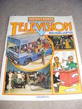Insight Book Television by Michael Loftus PB book 1979 retro vintage