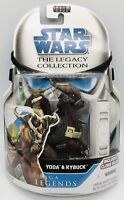 Star Wars The Legacy Collection Yoda & Kybuck Saga Legends Hasbro