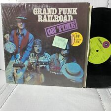 Grand Funk On Time- Capitol ST 307 VG(+)/VG- Water damage bottom sleeve
