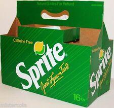 Vintage soda pop bottle carton SPRITE Great Lymon Taste unused new old stock