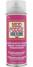 Mod Podge Super Hi Shine Clear Acrylic sealer