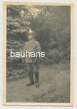 Foto Gendarmerie Polizei Lehrer Tschako 1943  2.WK (2417x)
