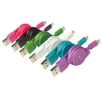 Sale!! 80cm Retractable Micro USB Data & Sync Charger Cable For Android Phones