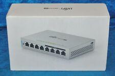 New Ubiquiti Networks Us-8-60W UniFi 8-Port Gigabit PoE Compliant Managed Switch