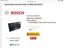 Bosch Glass Ceramic Hob Induction cooktop # Bsh-00716073