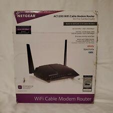 Netgear AC1200 - WiFi Cable Modem Router - Model C6220 - Open Box