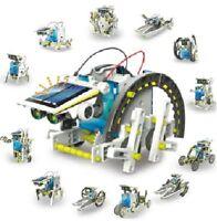13 in 1 Kids DIY Assembled Solar Robot Toys children's educational toys