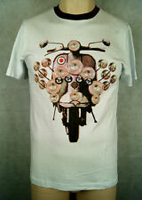 Merc of London Mecgill T-Shirt/Tee Farbe White Größe S