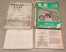 Kawasaki Kx125 Kx250 Kx500 Manuals And Parts Catalog 1988 1989 Factory Oem