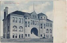 Kansas Ks Postcard 1908 NEWTON Bethel College Building