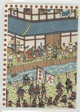 1991 Mattel Where's Waldo #105 Trouble in Old Japan Non-Sports Card 0b6