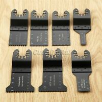 7x Wood Metal Oscillating Multi Tool Saw Blade for Multimaster Bosch Accessories