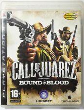 Call Of Juarez. Bound In Blood. Ps3. Fisico. Pal Es