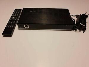 TechniSat DIGIT ISIO S2 schwarz mit Fernbedienung und Netzteil