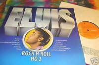 ELVIS PRESLEY - ROCK 'N' ROLL NO. 2 - U.K.- LP --- K@@L