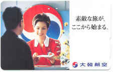 KOREAN AIR JAPAN SCHEDE TEMATICA GIAPPONE PROMOZIONALE