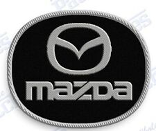 "MAZDA  AUTO CAR  iron on embroidery patch 2.0"" X 2.0""  Emblem Logo Crest"