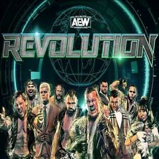 AEW Revolution 20 Deluxe Edition DISC ONLY MOX JERICHO All Elite Wrestling