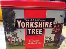 YORKSHIRE TREE TIN GRUFFALO TEABAG STORAGE CADDY TAYLORS OF HARROGATE