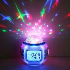 Anself H4962 Orologio Sveglia per Bambini con Termometro Allarme e Calendario