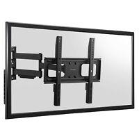 Heavy Duty Full Motion Swing Arm TV Wall Bracket Mount -20 +10 Degrees Tilt +90
