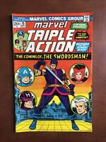 Marvel Triple Action #13 (1973) 7.0 FN Bronze Age Comic Book Scarlet Witch Hulk