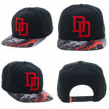 Marvel Daredevil Defenders Black Adult Custom Snapback Hat Cap