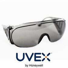 Honeywell 9165-317 Uvex Ultraspec Tinted Safety Glasses 2 Pieces UV Optidur 2002