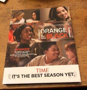 ORANGE IS THE NEW BLACK Season 4 Netflix 4-Disc DVD Emmy FYC Set