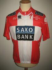 Saxo bank BRESCHEL Denmark jersey shirt cycling maillot maglia size XXL